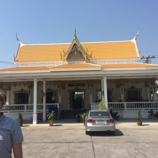 This is the Buddhist temple
