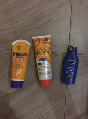 The devil sunscreen