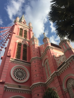 The Pink Church Of Saigon